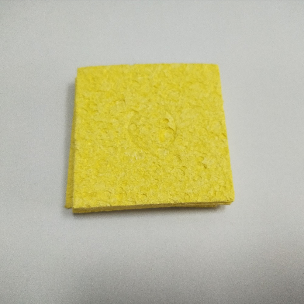 50pcs/lot Soldering Iron Tip Cleaning Sponge Cleaner Soldering Accessories