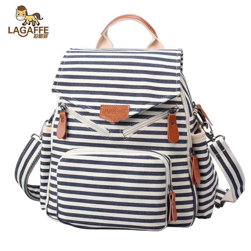 2017 Brand new fashion female backpack lovely canvas backpack school bag travel bags large capacity travel