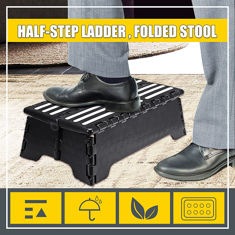 Folding Portable Step Stool Ladder Elderly Pregnant Foot Stool Bench Tools Bathroom Travel Toilet Elderly Constipation Assistant