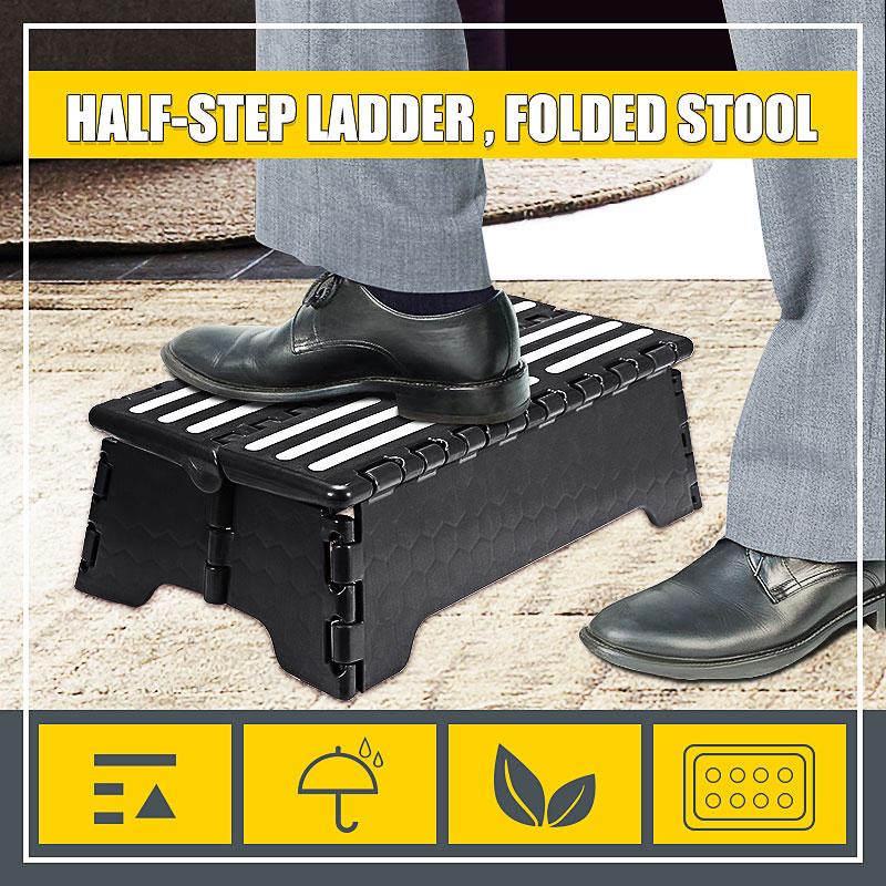 Folding Portable Step Stool Ladder Elderly Pregnant Foot Stool Bench Tools Bathroom Travel Toilet Elderly Constipation Assistant
