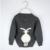 TBZ 1-5 Años Niñas Suéter de Invierno de Los Niños Ocasional Ropa de Marca Niños Bebés niños Suéteres de Punto de Conejo de Dibujos Animados 4 Cardigan de Color