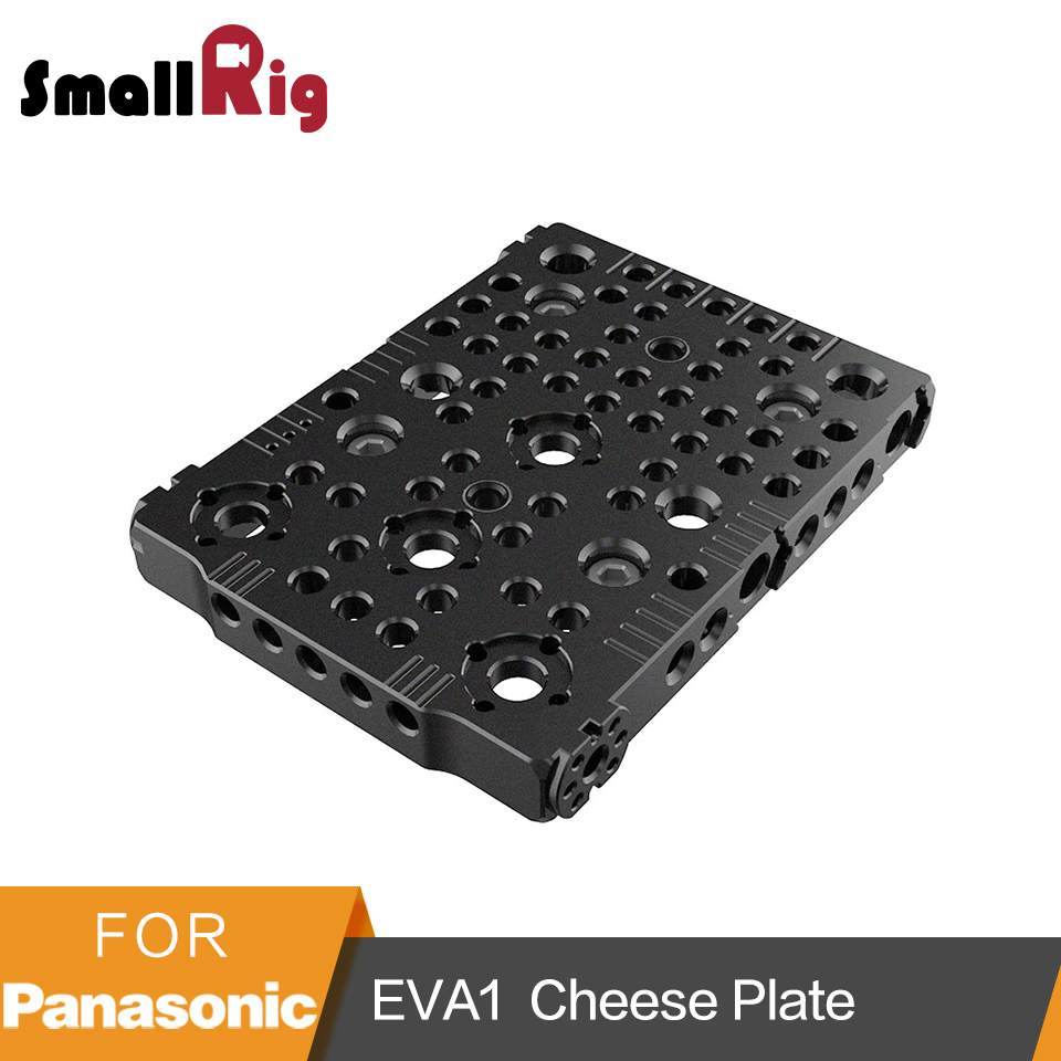 SmallRig Top Plate for Panasonic EVA1 With 1/4, 3/8 Screw Holes And Arri Holes Full Cover Plate -2112 m2 6x7 cover plate retaining screw 4pcs 79871020