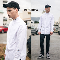 VIISHOW 100 Cotton Spring Male Long Sleeve Casual Shirt Men Slim Fit Dress Shirts Chemise Homme