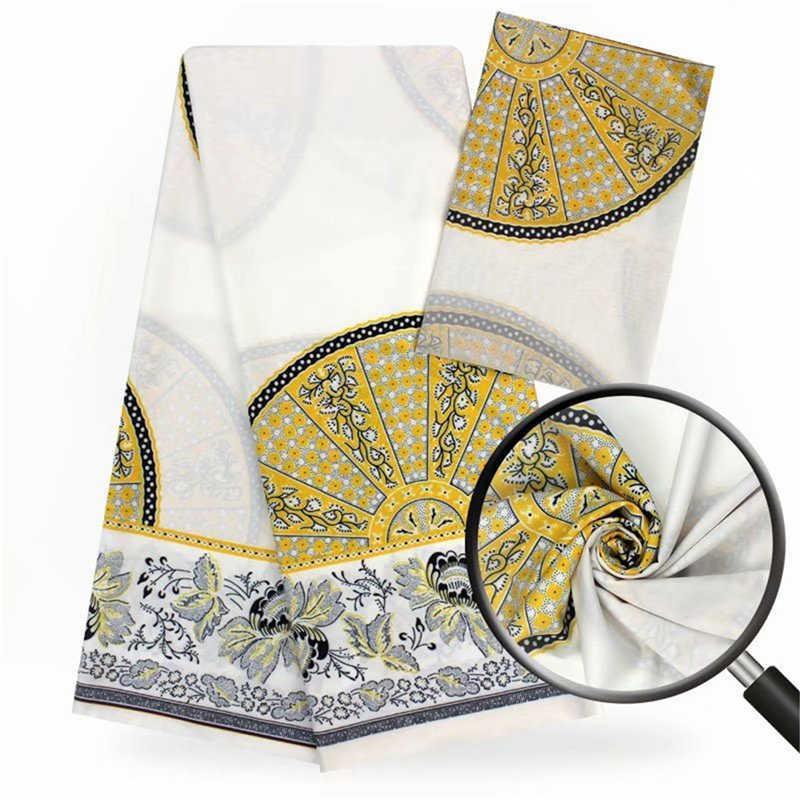 Модальные эластичные атласная шёлковая ткань Африканская мягкая восковая ткань с принтом 2 ярда шифон 4 ярда audel modell ИМИТИРОВАННАЯ ткань Анкара 061014