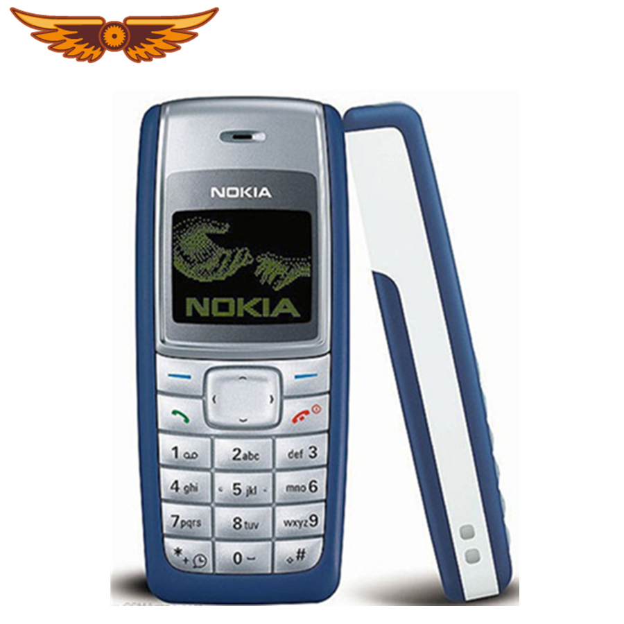 """1110 Cheap Original Unlocked Nokia 1110 GSM 2G 1.8""""  Refurbished Old Mobile Classic Phone Free Shipping"""