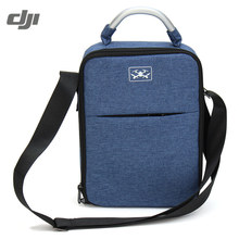 DJI Spare Drone Shoulder Bag Carrying Case Box Suitcase Handbag For RC Camera Drone FPV DIY Accessories Spare Parts Blue