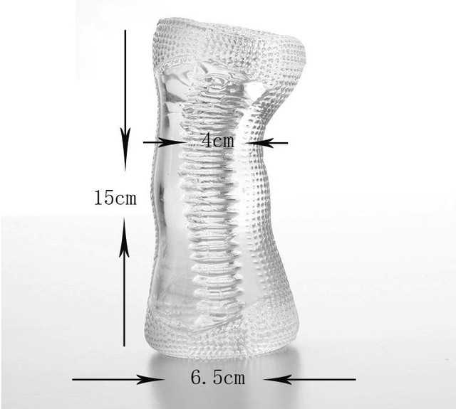 Free Shipping  Male Masturbator, Artificial Vagina, Transparent Pussy, Sex Toys For Men Adult Products Wholesale