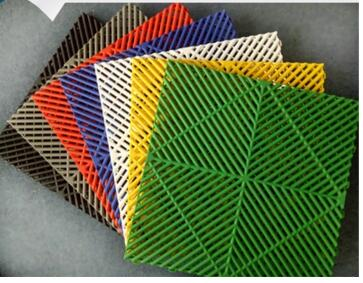 Car Wash Car Beauty 4S Shop Plastic Mosaic Grille Car Wash Floor Drainage Grid Floor Mat