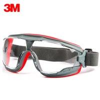 3 متر GA501 السلامة نظارات يندبروف النظارات الواقية المضادة الرمال مكافحة الضباب المضادة للصدمة الغبار المهنية العمل العمل نظارات