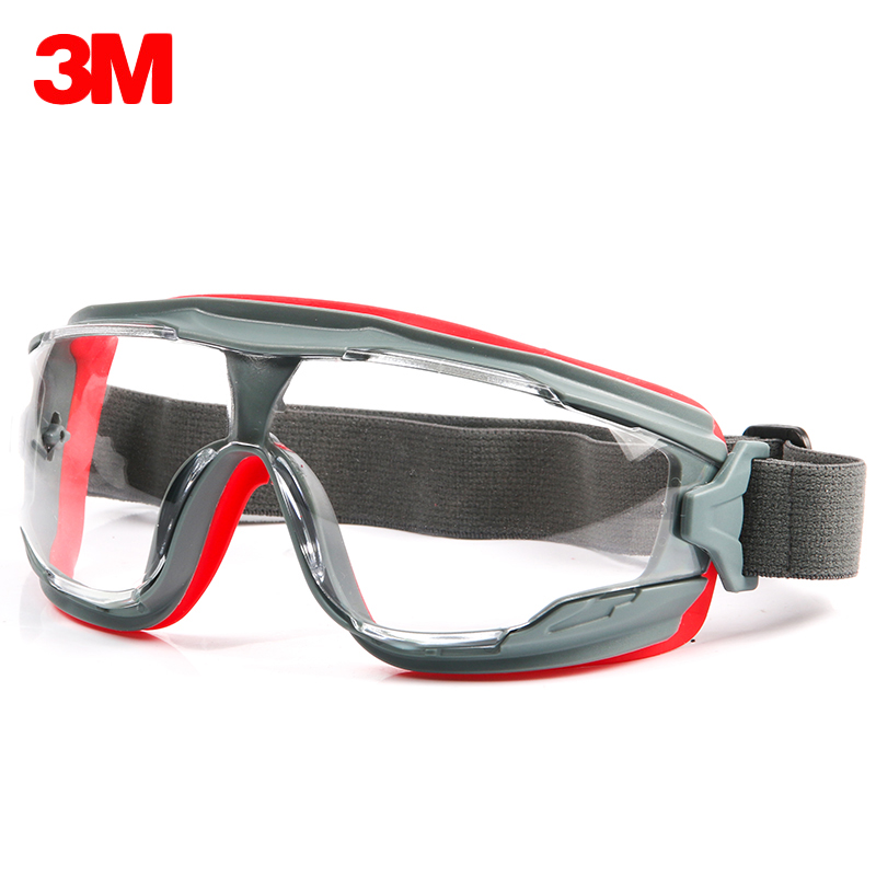 3M GA501 Safety Goggles Windproof Protective Glasses Anti-Sand Anti-fog Anti-shock Dustproof Professional Labor Working Eyewear 3m 1711 safety protective glasses anti shock windproof anti uv lightweight riding eyewear goggles g2305