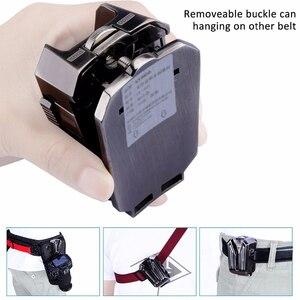 Image 5 - Correa de aleación para cámara Sony Canon Nikon SLR, accesorio de cintura para colgar en la cintura, con placa de hebilla, Correa SLR, placa de cama en la nube y billetera