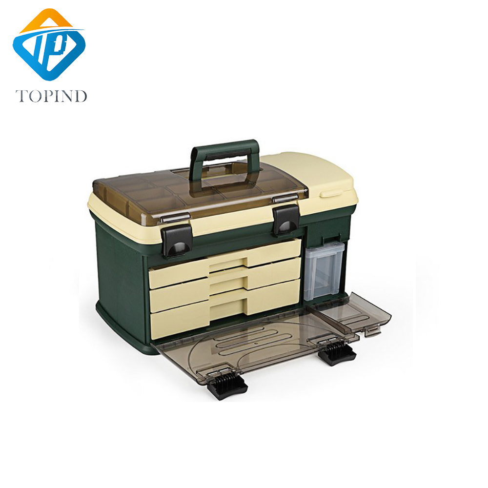 550*300*300mm PP + PC + TPE Große Angelgerät Box High Quality TPE Griff Fischerei Box Karpfenangeln Tools Zubehör - 2