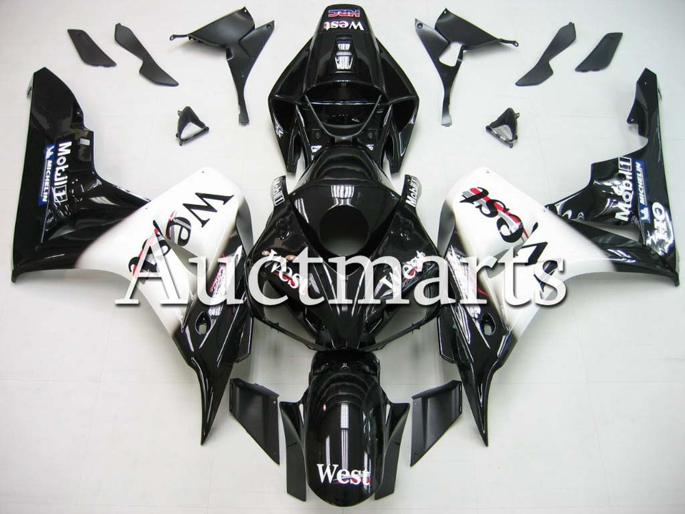 цены Fit for Honda CBR1000RR 2006 2007 CBR1000 RR ABS Plastic motorcycle Fairing Kit Bodywork CBR 1000RR 06 07 CBR 1000 RR EMS11