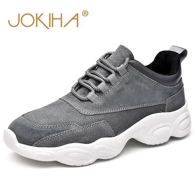 2019 nouvelles baskets pour hommes en peau de porc marque de mode chaussures pour homme baskets printemps chaussures à lacets solides