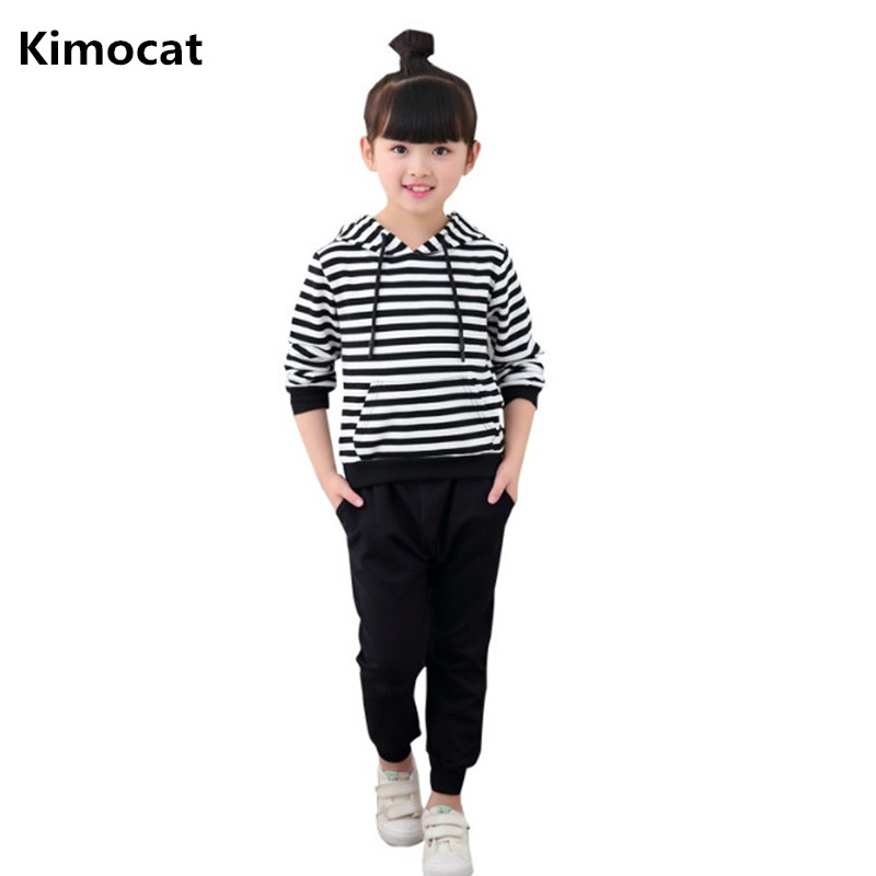 2018 new Hot Brand Children Sports Suit Girls Clothes Tracksuit Kids Clothes Jacket + Harem Pants 2 pcs Outfit Toddler Girl Clot