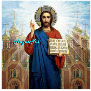 jesus diamond painting full square religion wall art wedding drawing kits dotz mosaic embroidery picture adult - discount item  51% OFF Arts,Crafts & Sewing