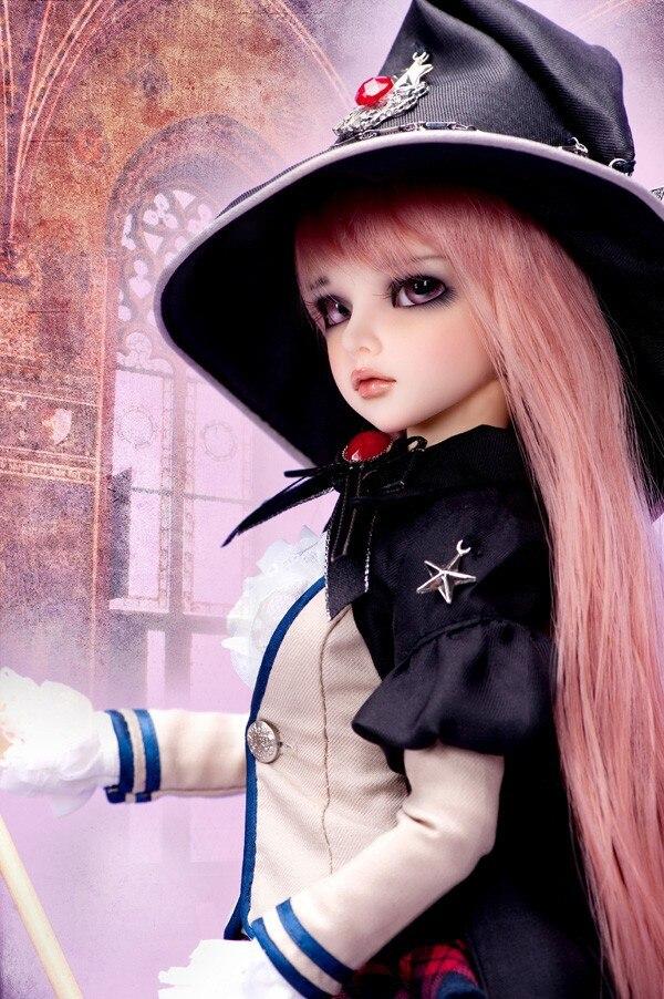 Resina para tienda de maquillaje de juguete de alta calidad, modelo de muñeca bjd de Mirwen 1/4-in Muñecas from Juguetes y pasatiempos    1