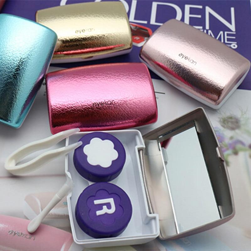 Eyekan Caja de lentes de contacto de lujo para mujeres Estuche de - Accesorios para la ropa - foto 2