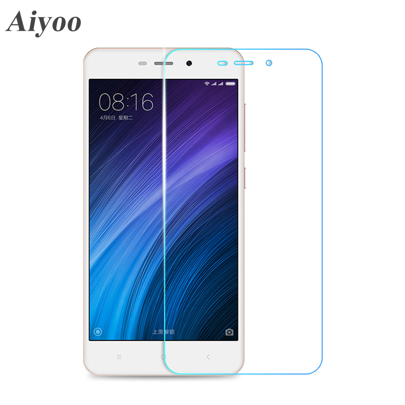 Aiyoo Tempered Glass Screen Protector for Xiaomi Redmi 4 Pro Note 3 4 4X Redmi 3S 4A Mi6 Mi5S Plus Mi5 Mi4 Mi4i Mi4C Glass Film