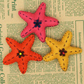 Brand New Personality Handmade Cute Cartoon Five-pointed Star Gilrs Brooch Pin Fashion Jewelry Children Clothing Accessories