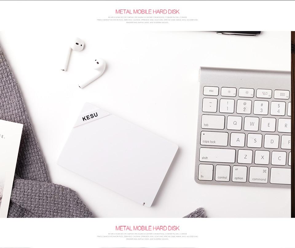 KESU 2 5 inch Portable External Hard Drive USB 3 0 120Gb 500Gb 1TB 2tb HDD