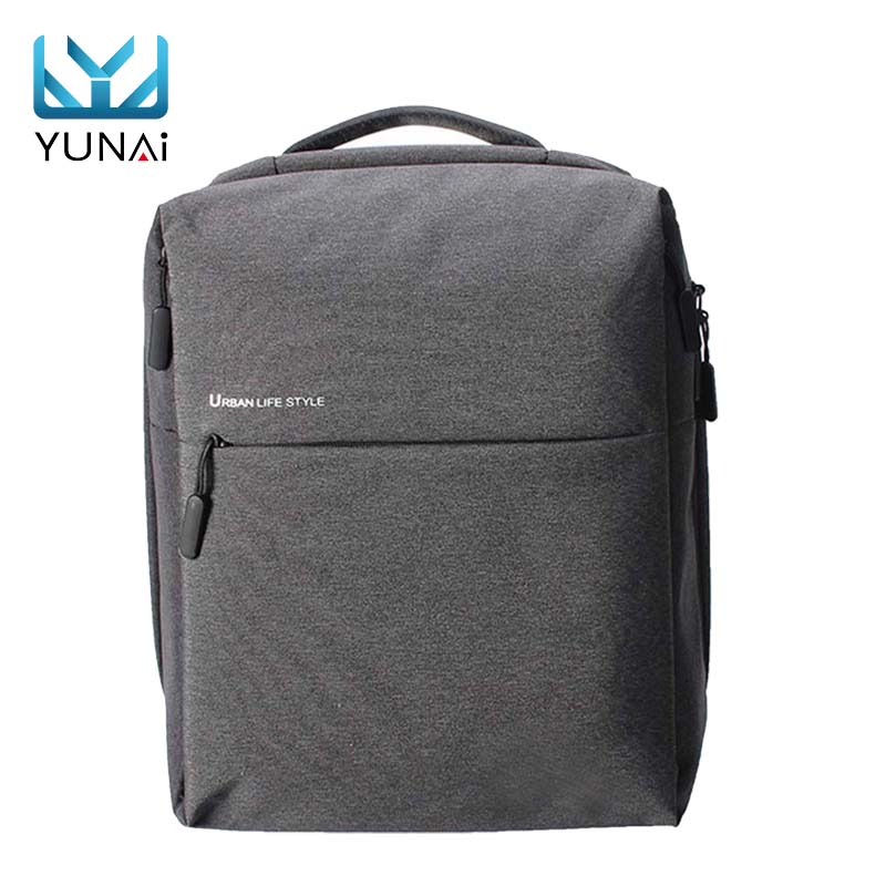 YUNAI Waterproof Business Laptop Backpack for Xiaomi Large Capacity School Bag Travel Bag for Laptop Notebook for Macbook i rocks im5 dk usb 2 0 wired 3500dpi optical gaming mouse black red