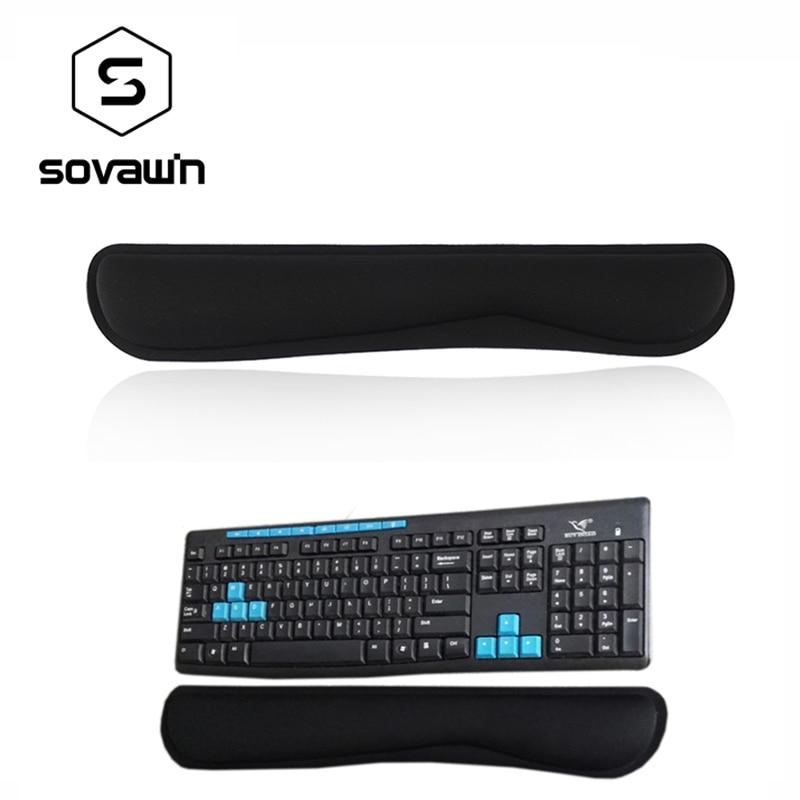 Soft Memory Sponge Mechanical Keyboard Wrist Rest Pad Gamer PC Handguard Comfortable Ergonomic Game Large Mat For Computer