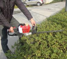 Dual Blades garden machinery 22 5cc Single Blade petrol Hedge Trimmer Gasoline Hedge Machine Pruning Shears