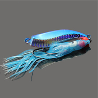 5pcs Metal 60g Inchiku Jig Micro Octo Jigs Fishing Lure Jigging Snapper Slow Fishing Artificial Bait Crankbait Swimbait Luminous