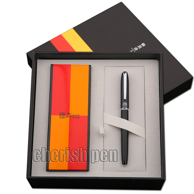Free shipping Picasso R16S High-grade signing pen  Rollerball/Gift/Metal/Ballpoint Pen 0.7MM Original Box  Wholesale pentel r s v p razzle dazzle ballpoint pen
