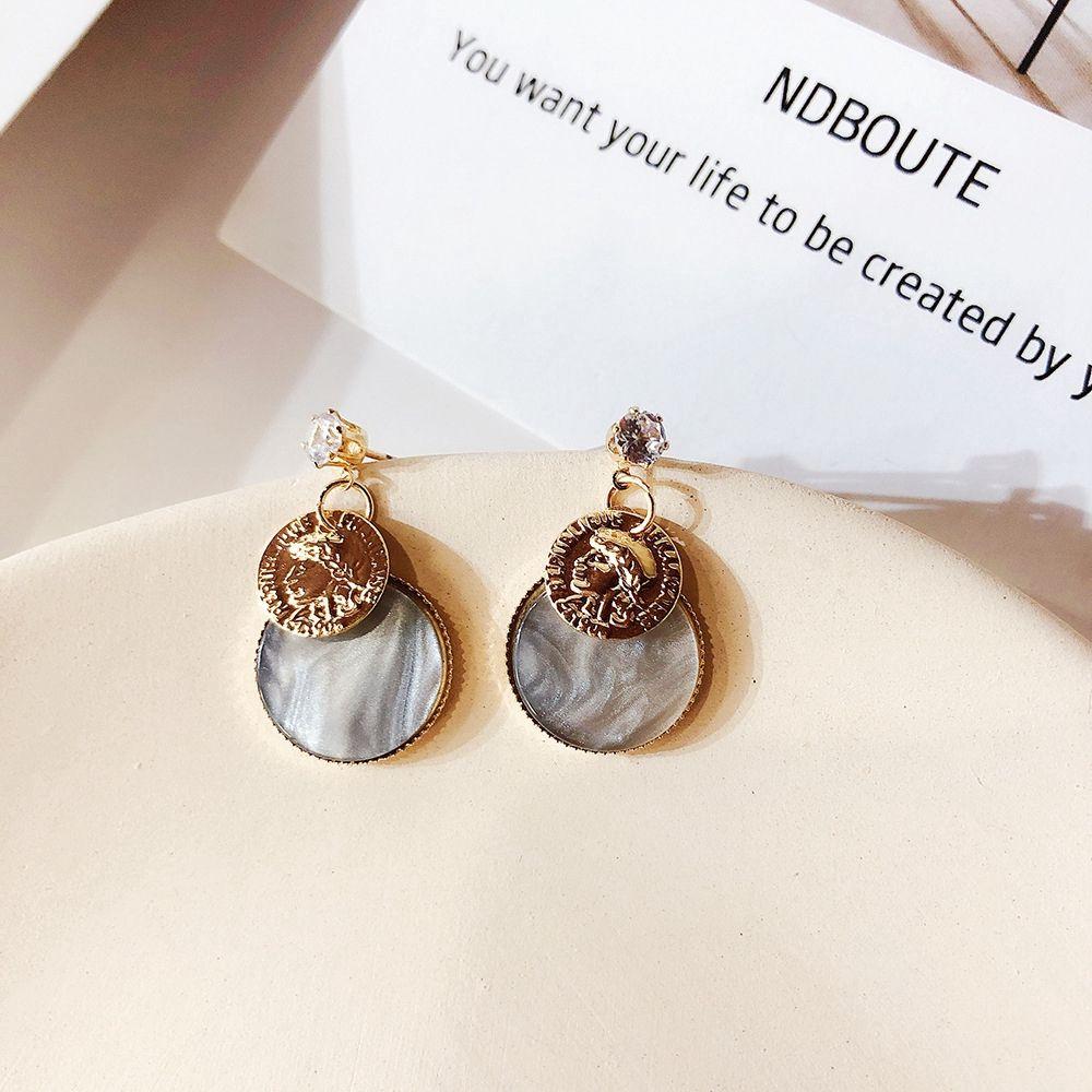 TRENDY Femmes Boucles D/'oreilles acétate Acrylique Géométrique Goutte Boucle d/'oreille dangle Bijoux Cadeau
