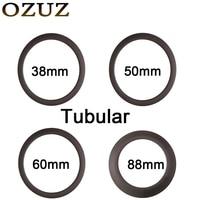 700C 24mm 38mm 50mm 60mm 88mm Tubular Carbon Wheels Bike Rim 3k Matte Or Glossy 23mm
