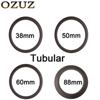 700C 24mm 38mm 50mm 60mm 88mm Tubular Carbon Wheels Bike Rim 3k Matte Or Glossy 23mm