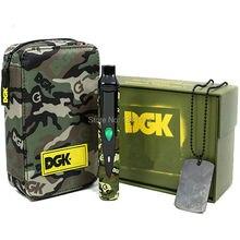 Snoop Dogg ДГК портативный комплект электронных сигарет 2200 мАч термостат регулятор батареи сухие травы испаритель травяные воск сигары жидкостью VAPE группа