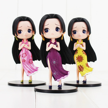 14cm Boa Hancock ONE PIECE Q version 3 styles Hot Japan Anime Action Figure Model sexy beautiful girl free shipping