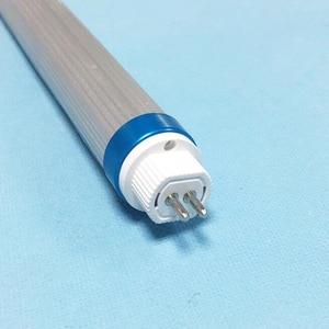 Image 3 - 10pcs T5 led tube light 18w 4ft 1200mm t6 with g5 holder AC110 277V 1.2m led aluminum + pvc Tube lamps for living room factory