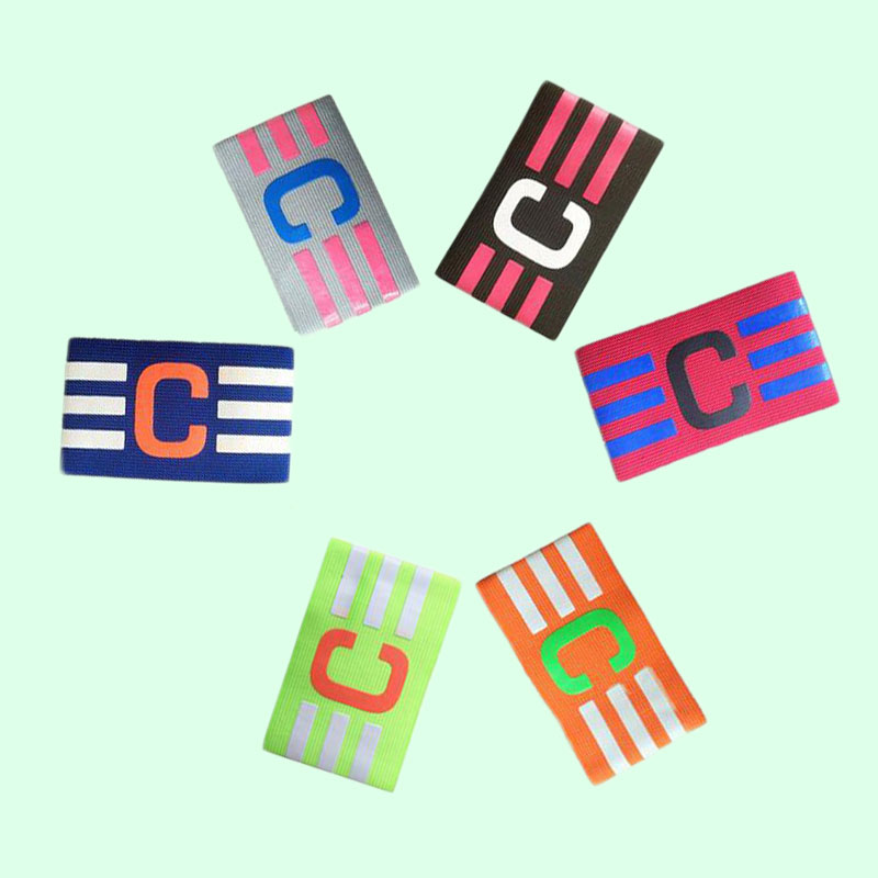 Football Captain Armband Soccer Skippers Armbands Multi Color Hockey Player