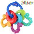 Baby toys 3-12 meses new silicone bebê mordedor formação escova de dentes escova de dente molar mastigação linda criança de bell toys yyt320