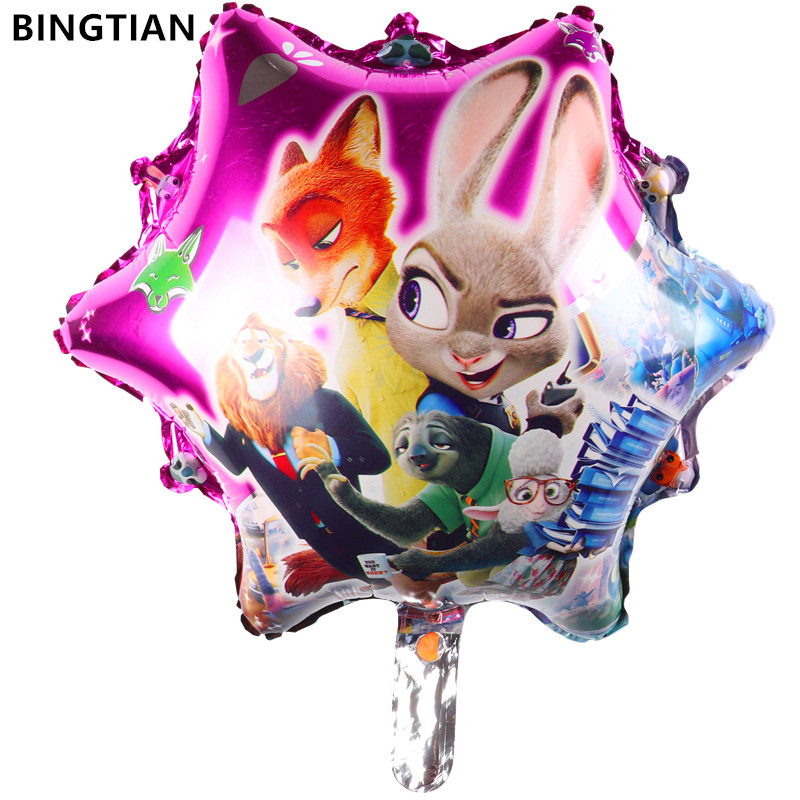 BINGTIAN free shipping new design Cartoon crazy animal City balloons inflatable toys wedding decoration wholesale