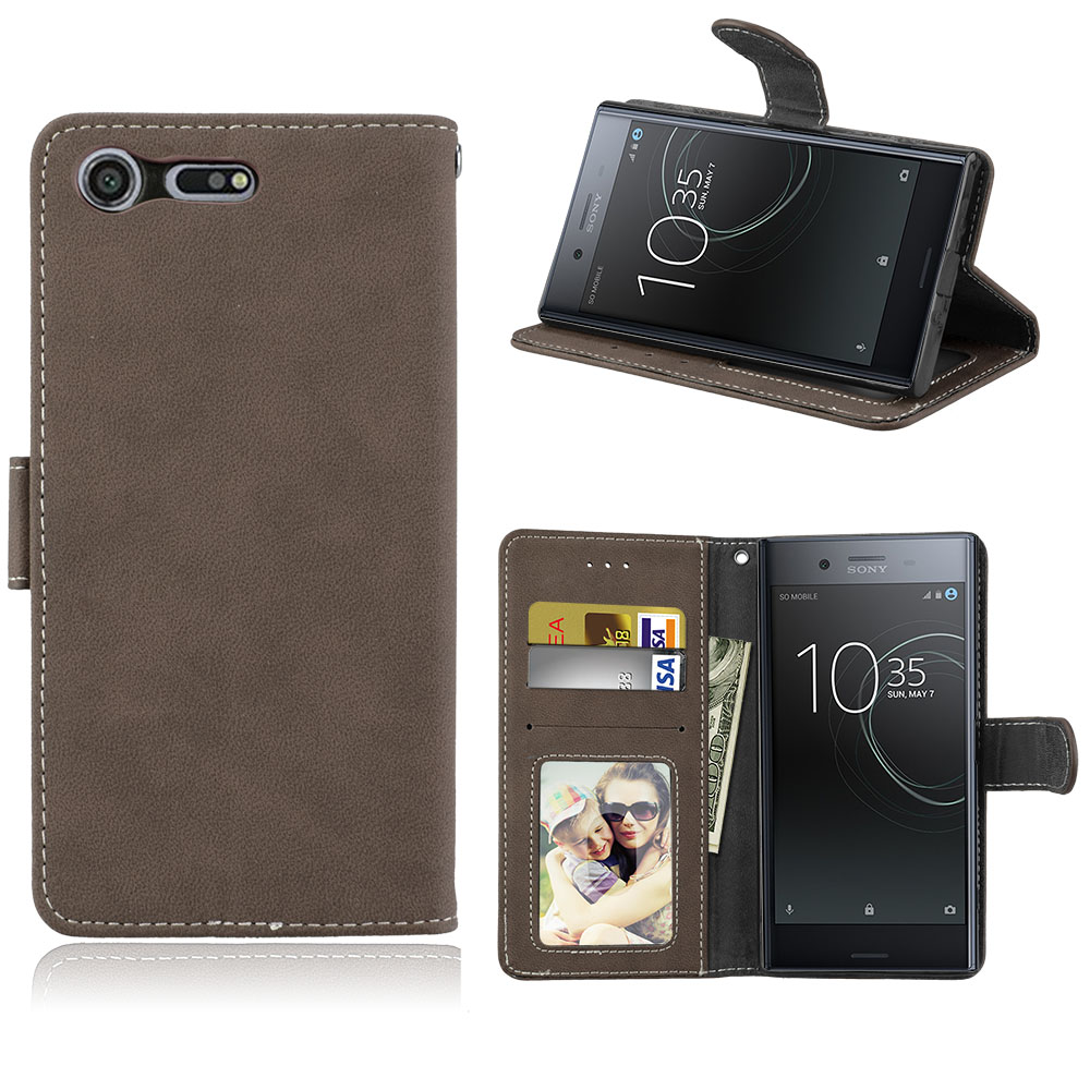 Case For Sony Xperia XZ Premium Cover Flip PU Leather Wallet Stand Luxury Phone Cover for Sony Xperia XZ Premium Case Fundas Bag