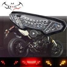 LED señal de giro trasera para YAMAHA MT-09 FZ-09 14-16 FJ-09 MT09 Tracer 900/GT MT10 FZ10 15-20 de la motocicleta accesorios de luz