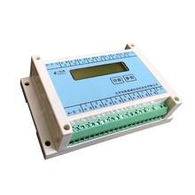 16 mélange de support routier PT100, K, T, J, N, E, S, thermocouple 4 20mA, module dacquisition de température de résistance thermique 485 MODBUS RTU