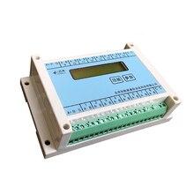 Mix apoio PT100 16 estrada, K, T, J, N, P, S, 4 20mA termopar, módulo de aquisição de temperatura da resistência térmica 485 MODBUS RTU