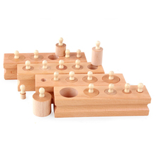 Socket Cylinder Family Equipment Baby Puzzle Early Education Toys Kindergarten Teaching Aids Baby Early Education Educational flyingtown montessori teaching aids balance scale baby balance game early education wooden puzzle children toys