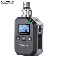 Comica XLR Plug on XLR Wireless Transmitter for Comica CVM WM300/CVM WM200 UHF Wireless Lavalier Lapel Microphone System
