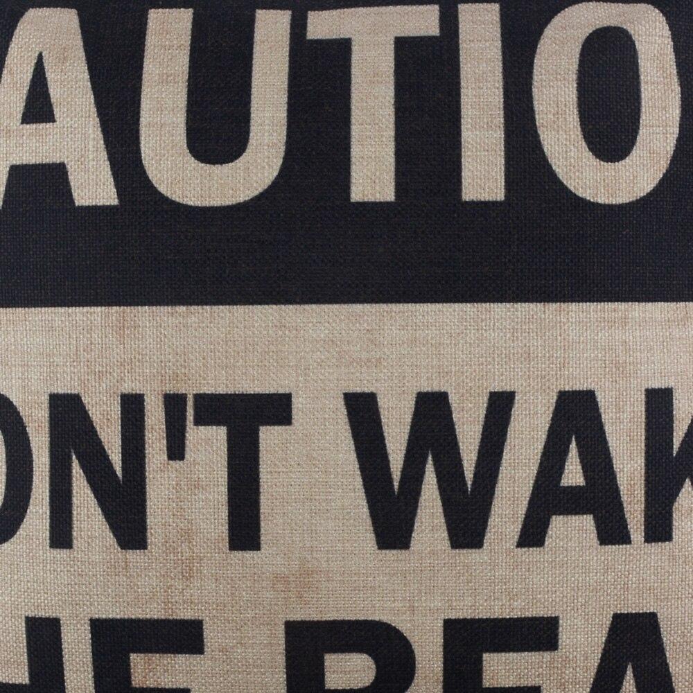 Wake The Bear Cushion 1