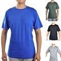Männer der 100% Merino Wolle Heraus tür Crew T Shirts Leichte Athletics Sommer Atmungs Wicking Kühlen Kurzarm Basis T-in T-Shirts aus Herrenbekleidung bei