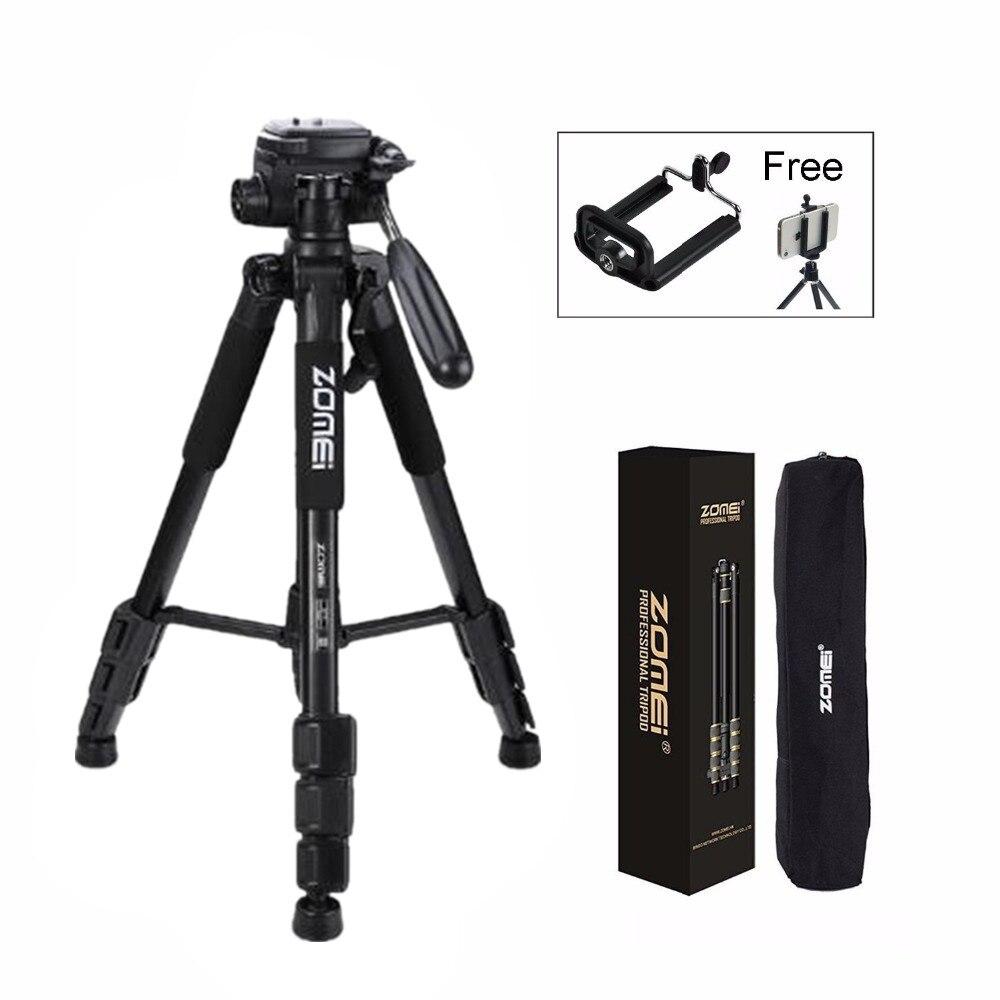 Zomei Q111 Professionnel voyage portable trépied en aluminium avec appareil photo numérique REFLEX accessoires trépied pour appareil photo REFLEX numérique