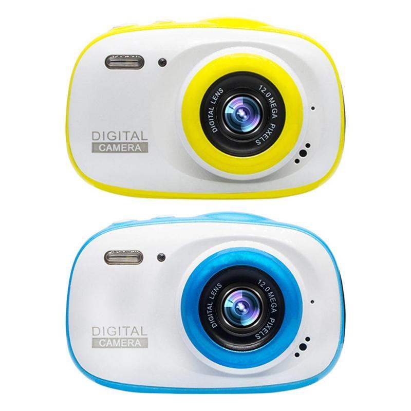 VODOOL 2 pouces enfants caméra Bluetooth 720 P IP68 étanche 6X numérique Zoom caméra pour filles garçons enfants cadeaux de festival d'anniversaire