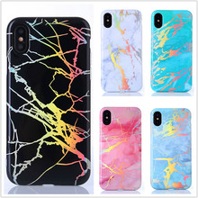 ФОТО jspyl soft plating cases for samsung galaxy s9 plus case shiny laser marble cover for samsung s8 plus note 8 case glossy tpu bag